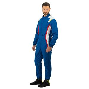 P1 Race Suit Turbo Royal Blue/White/Red - Size 6
