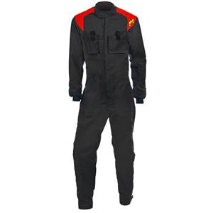 P1 Single Layer Mechanic Suit M2 Black - Size 3