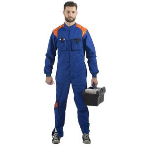 P1 Single Layer Mechanic Suit M2 Blue - Size 3