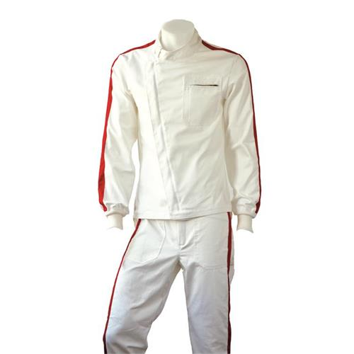 P1 Single Layer Jacket Mulsanne Cream - Size 7